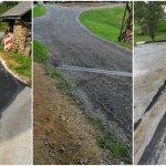 Urejanje cest v Stavči vasi