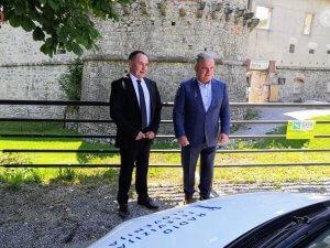Delovni obisk ministra Vizjaka